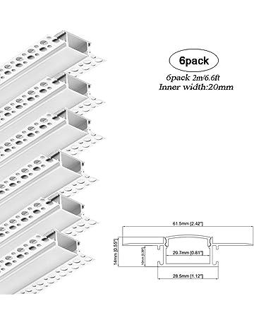 Mill Unpolished T52 Temper 1//8 Thickness 1//2 Width 6063 Aluminum Rectangular Bar AMS QQ-A-200//9//ASTM B221 Finish 36 Length