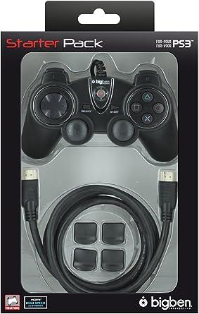 BigBen Starter Pack V2 - Juego de mando y cable HDMI para PS3: Amazon.es: Videojuegos