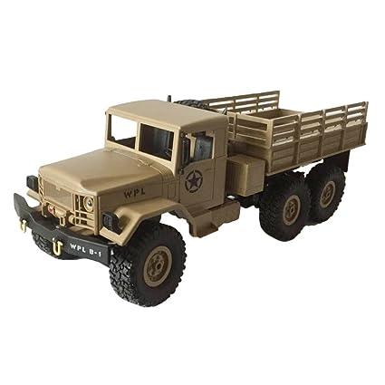 Buggy remoto - Carro de control remoto 6WD Crawler Military Trunk, B ...