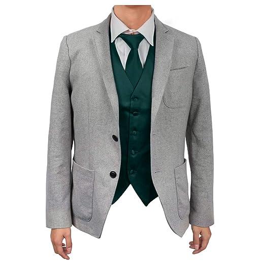 Dan Smith DGDE0005-2XL Vestido informal de color verde oscuro de ...