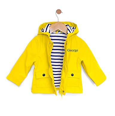 large discount diverse styles quality design WithCongratulations Personalised Baby Raincoat Rain Jacket ...