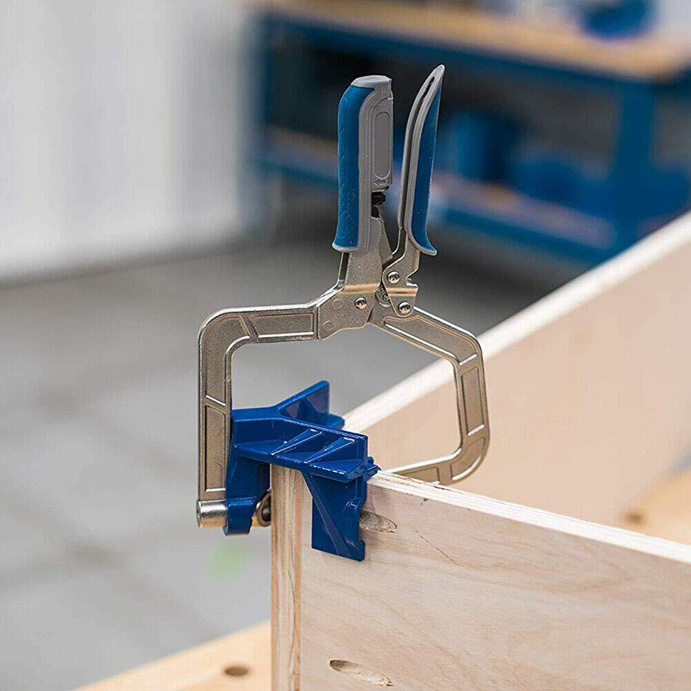 Planrahmenklemmen Passende Werkzeuge f/ür die Holzbearbeitung f/ür Kreg-Vorrichtungen und 90 /° Balai 2019 NEUESTE automatisch einstellbare 90-Grad-Eckklemmen Eckverbindungen//T-Verbindungen