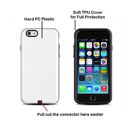 Neotrix magnético QI inalámbrico cargador teléfono caso para el iPhone 6 6s más (5.5