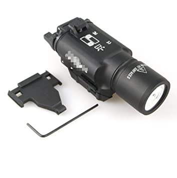 Pistolet Sortie Ultra Lampe Arme Haut X300 Led Lumière Style O8w0nXPk