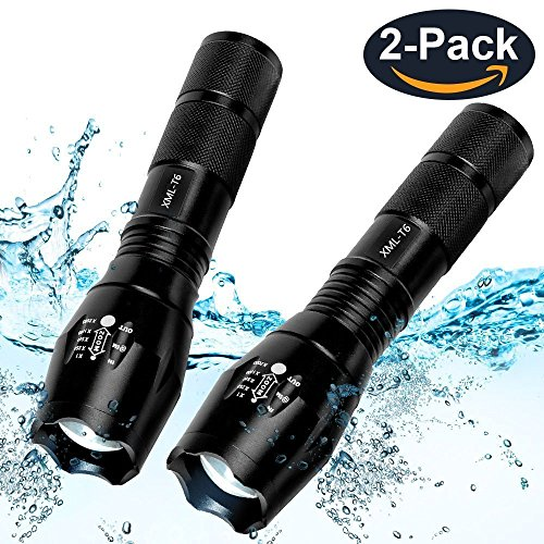 Military Lumens Tactical Waterproof Flashlight product image