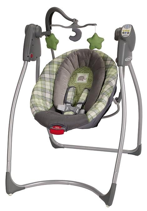 dce4e78aa Graco Comfy Cove LX Infant Swing, Roman (Discontinued by Manufacturer):  Amazon.com.mx: Bebé
