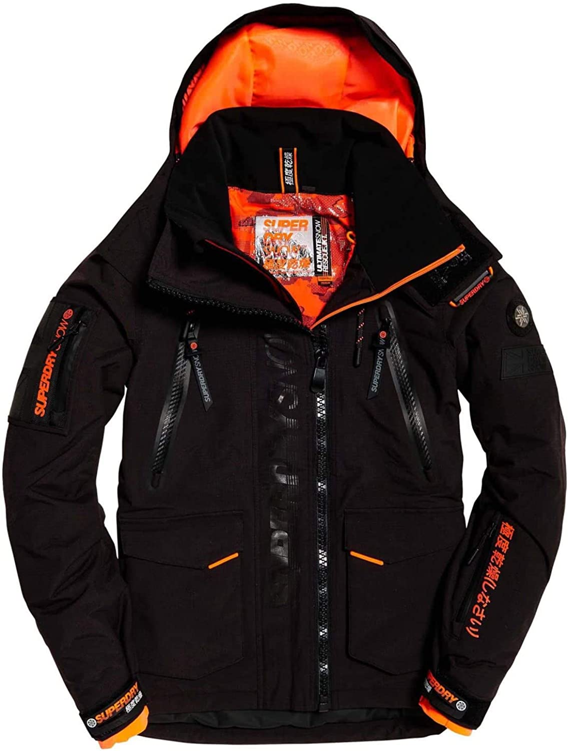 Superdry Ultimate Snow Rescue Onyx Black Xxl Amazon Ca Clothing Accessories