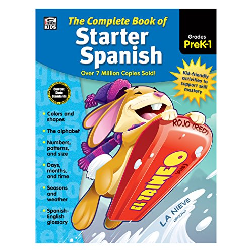 The Complete Book of Starter Spanish, Grades Preschool - 1 -