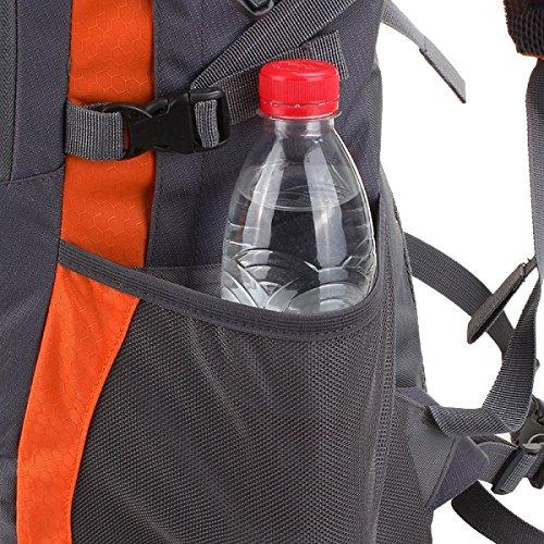 Yy.f Bolso Al Aire Libre Mochila Bandolera Estudiante El Agua La Lluvia Las Bolsas De Polvo Mochilas Acampar Senderismo Escalada Ciclismo. Multicolor Orange