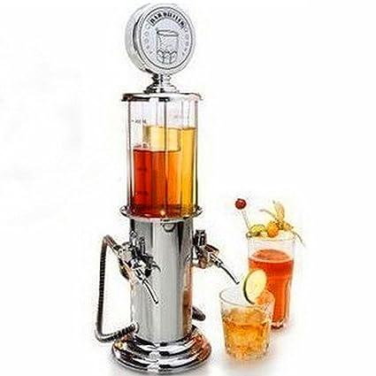 Dispensador de bebidas frías Ailiebhaus Bar Butler de surtidor de gasolina con 2 grifos (2