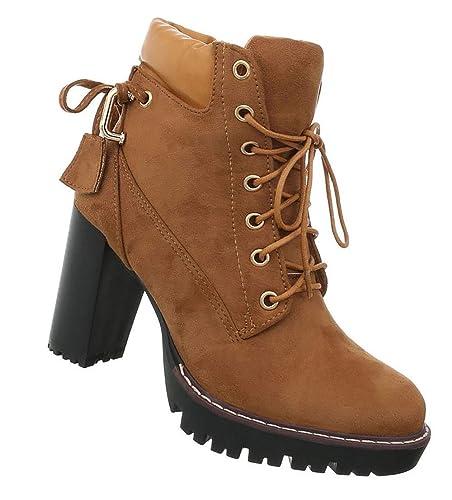 ab7099a4fab88 Damen Schuhe Stiefeletten | Schnürstiefel Halbschaft | Boots Stiefel ...