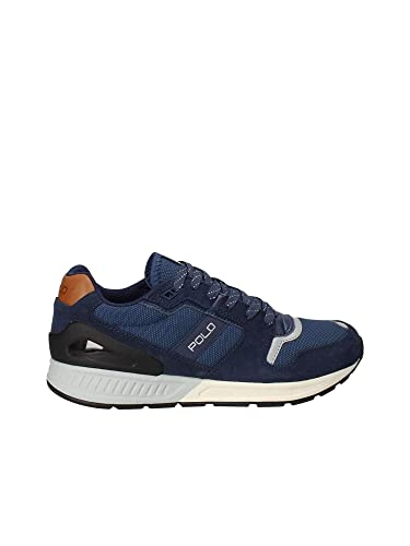 14e6be6a541e1c Polo Ralph Lauren Train 100 Herren Sneaker Blau  Amazon.de  Schuhe ...