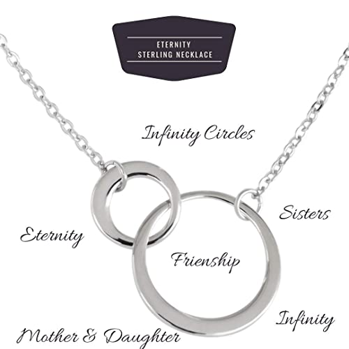 925 Sterling Silver Eternity Occasion Pendant