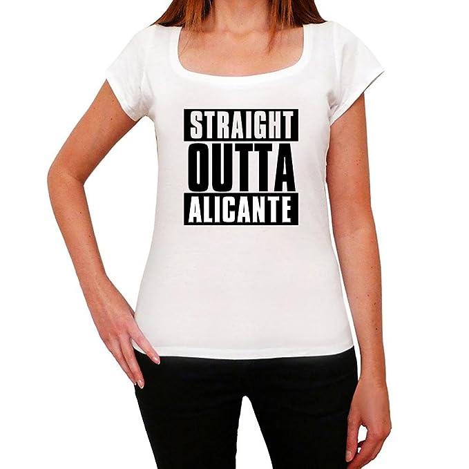 Amazon.com: Straight Outta Alicante, womens tshirts, city tshirts for women, gift tshirts: Clothing
