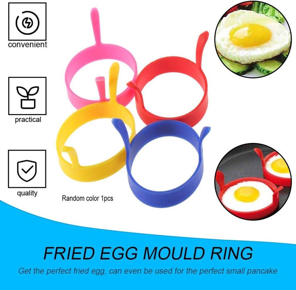 Greens Kitchen Molde de silicona para fre/ír y fre/ír horno huevo escalfador panqueque
