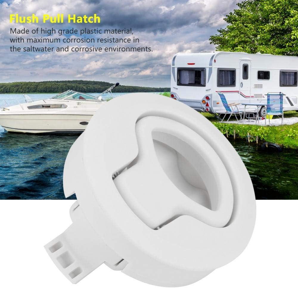 #2 Acouto 12 Inch Marine Boat Flush Pull Hatch Latch
