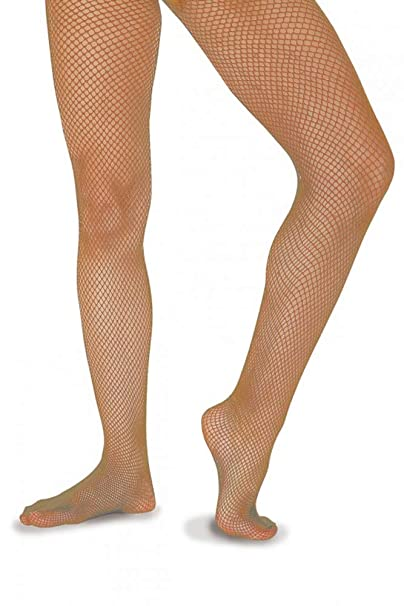 ff50a9167efed Economy Footed Fishnet Roch Valley Tights (23222) - Tan: Amazon.co.uk:  Clothing