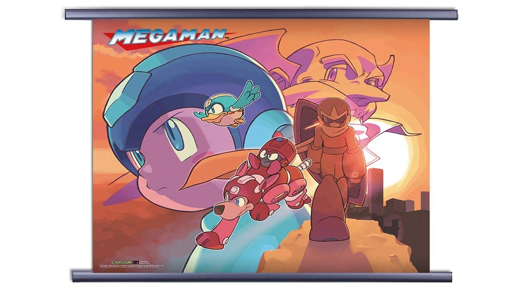 Amazon.com: CWS-Media Group Mega Man Classic: Sunset ...