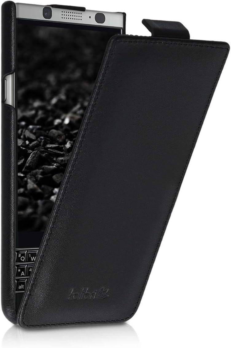 kalibri Funda con Tapa Ultra Fina Compatible con Blackberry KEYone ...