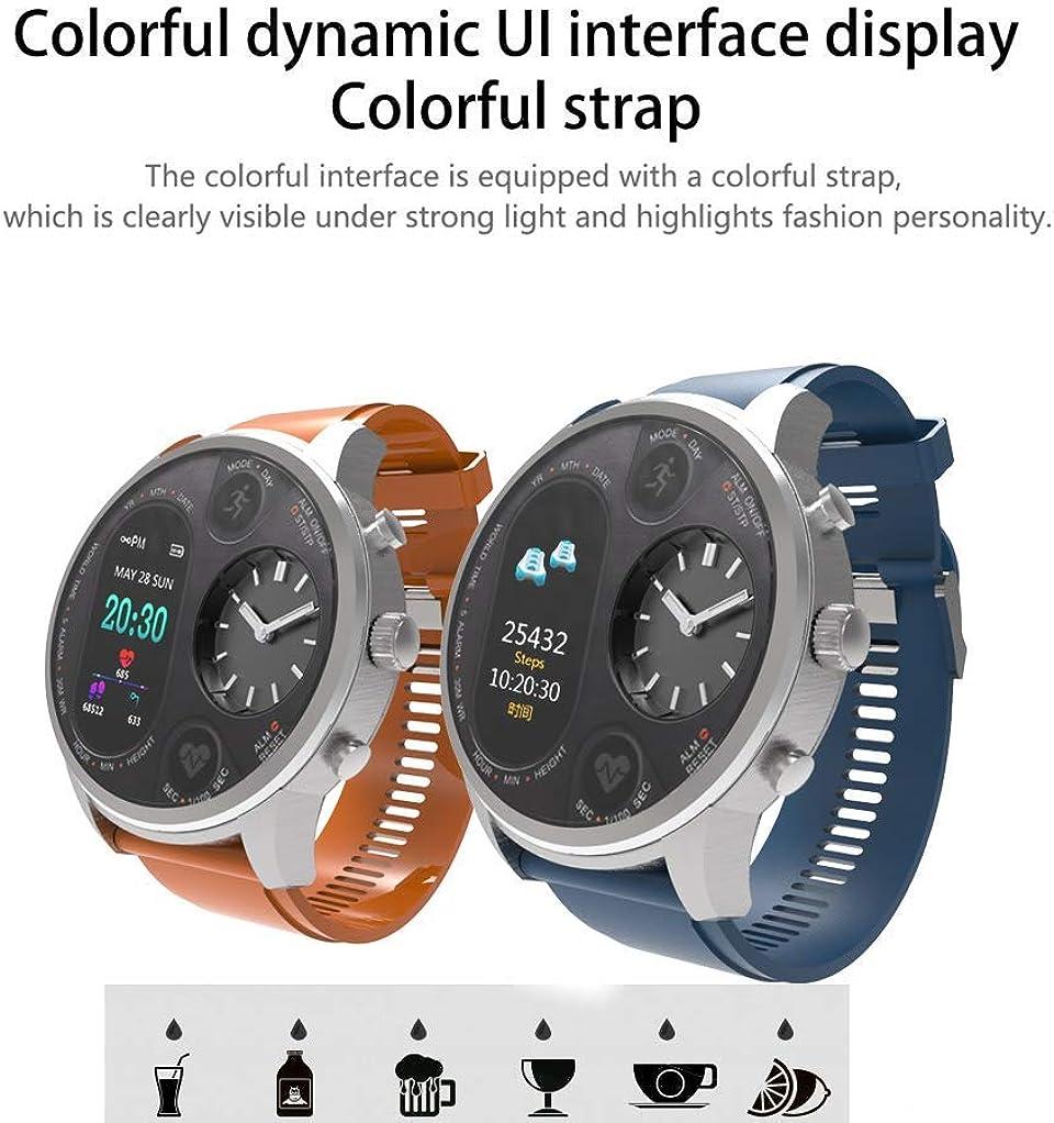 Bluetooth Smartwatch Fitness Cinturino sportivo Orologio sportivo con contapassi per cardiofrequenzimetro, Feeler per uomo Bambini per Android IOS C