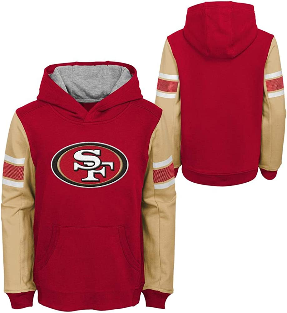 5-6 Team Color Kids Medium NFL Jacksonville Jaguars 4-7 Outerstuff Man In Motion Pullover Hoodie