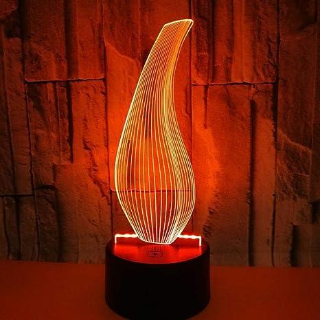 BFMBCHDJ Nueva botella Lámpara 3D Colorido Control remoto táctil ...
