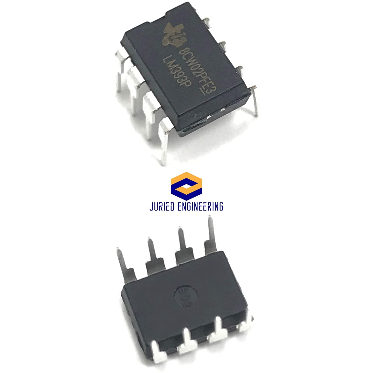 FREE SHIPPING 5 x LM393N LM393 IC LOW POWER DUAL VOLTAGE COMPARATORS