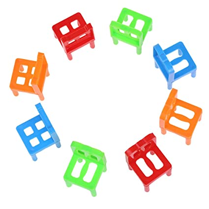 Merveilleux Education Toy,Jinjin Balance Chairs Board Game Children Educational Balance  Toys (As Shown)