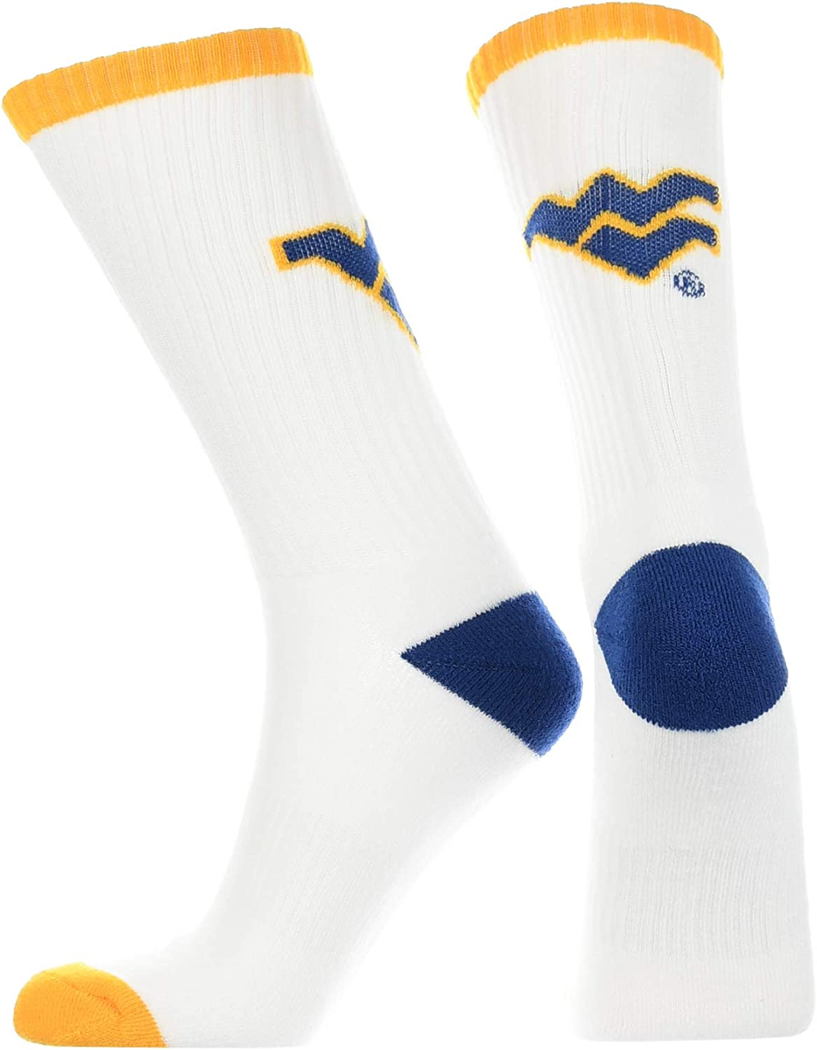 TCK West Virginia Mountaineers Socks Victory Parade Crew Length