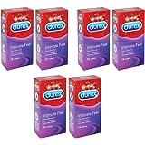 Durex Intimate Feel, Elite Condoms, 6x Packs of 12 (72 Condoms)