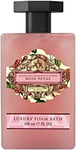 AAA Rose Petal Luxury Foam Bath, 500 Milliliter