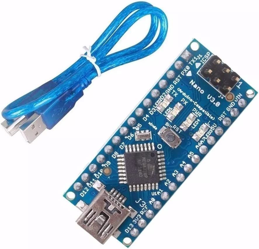 For NANO V3.0 ATMEGA328P Improved Version Welded Board with Cable USB O5A7