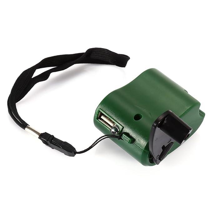 SYMTOP Dinamo de manivela USB cargador de teléfono celular de ...