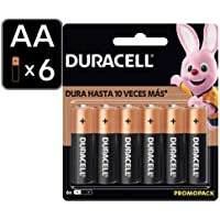 Duracell Pilas Aa 6 Pza, Alcalinas, Color, Aa, Pack Of aquete de 12