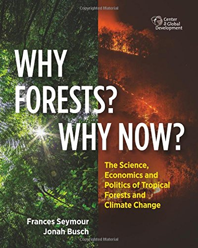 Book Cover: Why Forests? Why Now?: The Science, Economics, and Politics of Tropical Forests and Climate Change