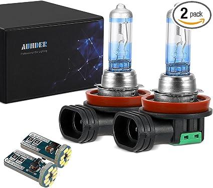 Halogen 9005 HB3 100W 5000K White Two Bulbs Head Light High Watt ATV UTV Bike