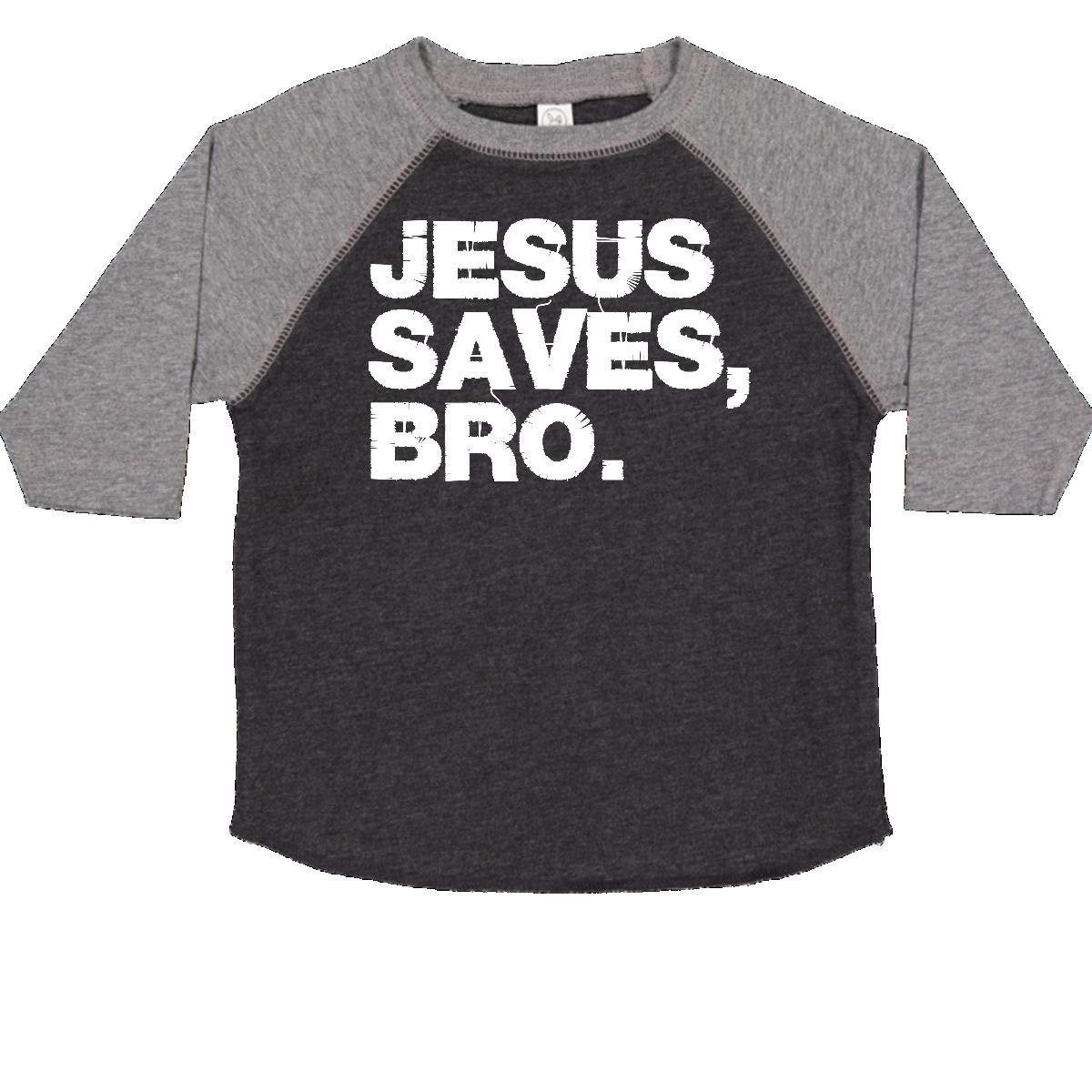 Toddler Long Sleeve T-Shirt Bro inktastic Jesus Saves