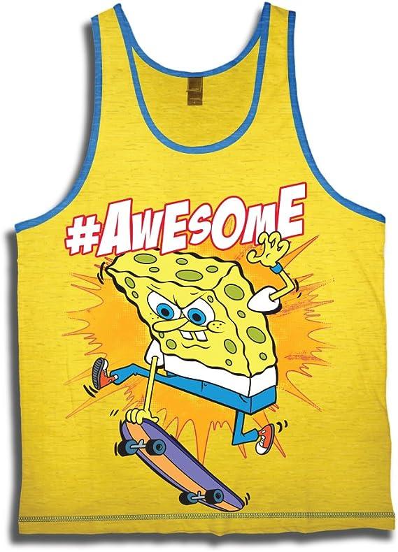 SpongeBob Squarepants Awesome Youth Tank Top T-Shirt