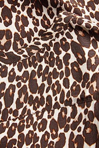 Tierdruck T EU 14 Shirt UK Kastenförmiger next mit Silhouette 42 Kleid Damen 58aPZq0