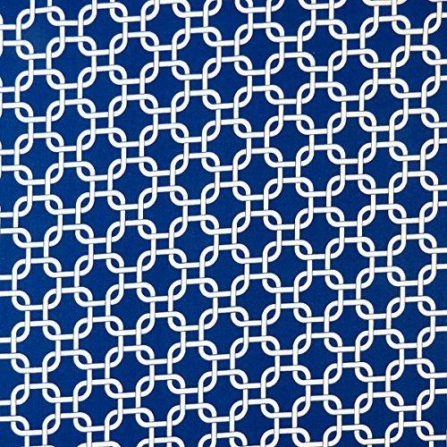 SheetWorld Crib / Toddler Sheet - Royal Blue Links - Made...