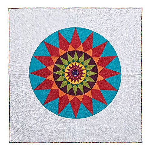Living Large Sunflower Quilt Pattern by Robin Ruth Design