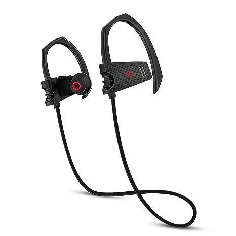 Sansisco Cuffie Sport Bluetooth In-Ear Auricolari Wireless con Microfono  IPX7 Impermeabile 8 Ore Batteria 200H 0388895e24bb