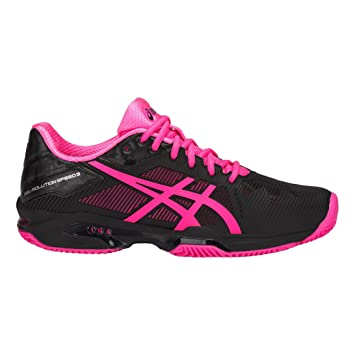 ASICS Chaussures Femme Gel-Solution Speed 3 Clay: Amazon.es: Deportes y aire libre