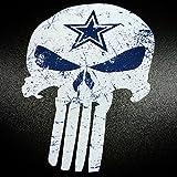 Punisher Blue Star - Sticker