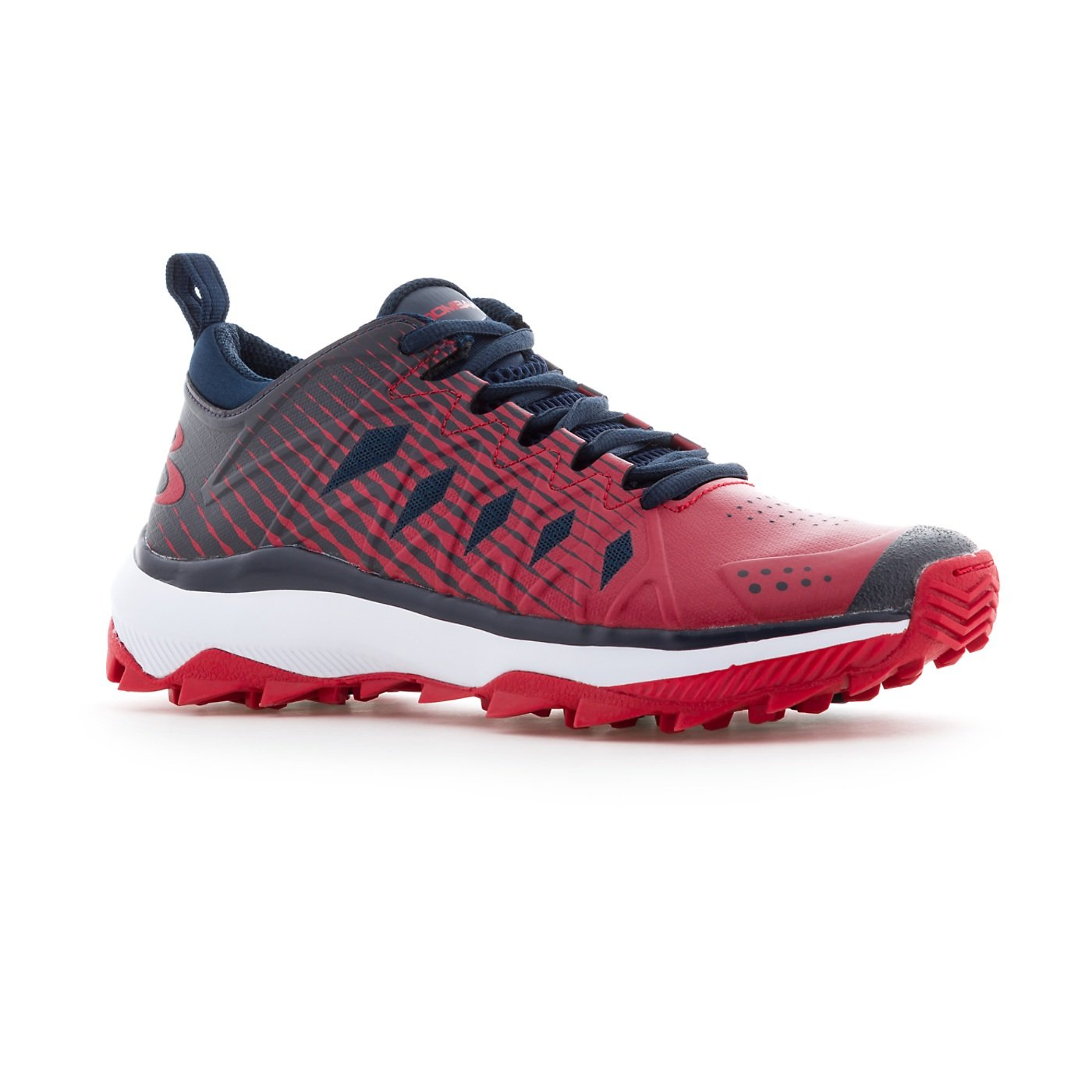 Boombah Women's Squadron Turf Shoes - 14 Color B079JPG2FP Options - Multiple Sizes B079JPG2FP Color 8.5|Navy/Red 7a24d9