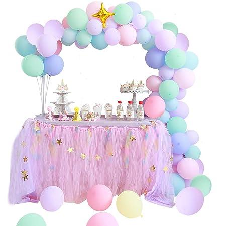 Kit de Guirnalda de Globos Macaron Globos de Fiesta Pack de Guirnaldas de Arco para Despedida de Soltera, Cumpleaños, Fiesta, Graduación de ...