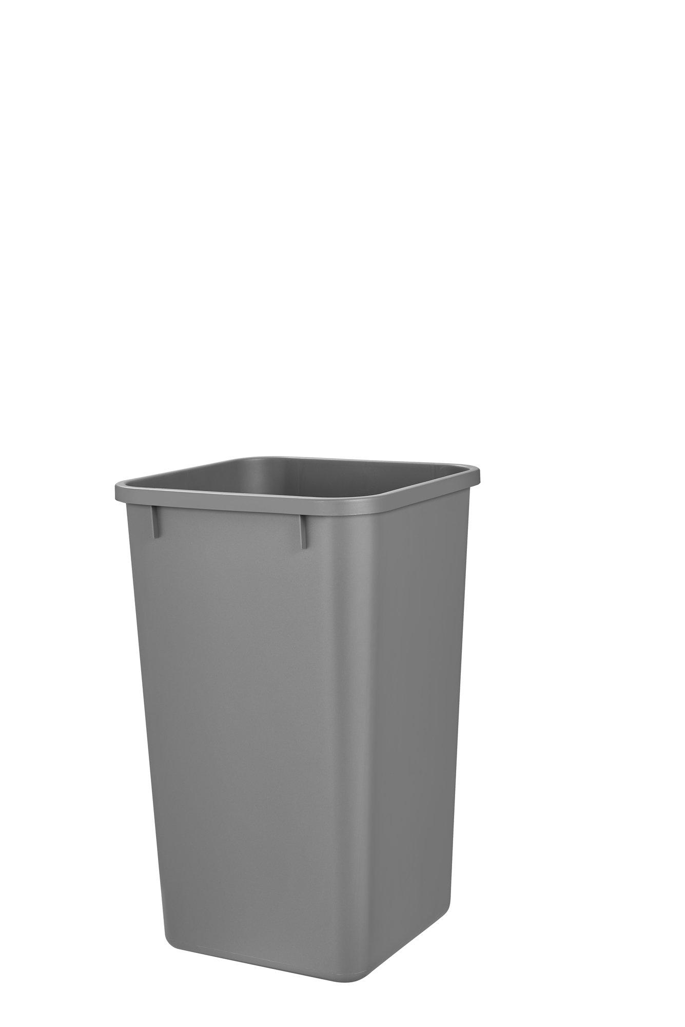 Rev-A-Shelf Rv-1024-17 27 Quart Replacement Container, Metallic Silver