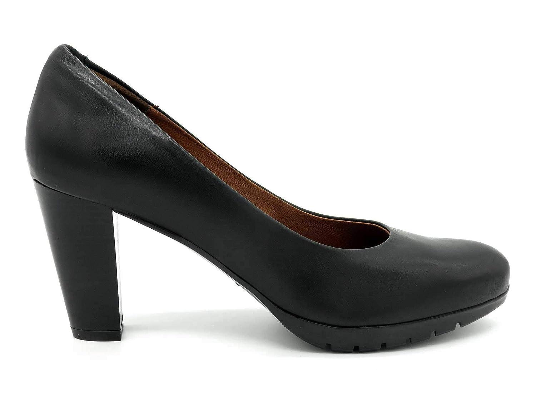 Desireé - Made In Spain - Damen Echtleder Echtleder Echtleder Pumps mit stabilen und bequemen 8 cm Blockabsatz, weiches Leder, 2230 schwarz ebf756