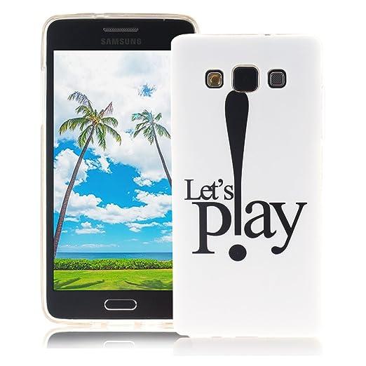 15 opinioni per XiaoXiMi Cover Samsung Galaxy A5 2015 SM-A500F Custodia in Silicone Gomma Gel