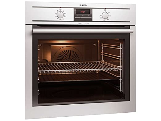 AEG BE3003001M - Horno (Integrado, Acero inoxidable, Giratorio ...